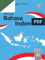 Kelas 11 SMA Bahasa Indonesia Guru 2017