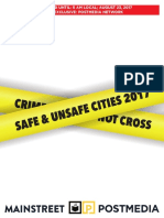 Mainstreet - Safe and Unsafe Cities 2017