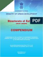 Compendium of Govt. Accommodation