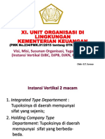 XI. Unit Org. Kemenkeu