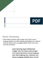 Terapi Strain Hamstring