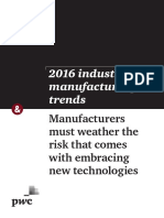 2016 Industrial Manufacturing Trends