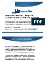 Simplified Steel Stair Design