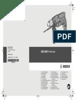 Vrtacka Navod Driller Manual Bosch