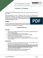 ICT Olympiad - Description