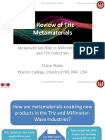 A Review of THz mtm