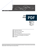 Operating Instructions - Printer Reference (2007)