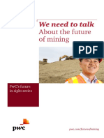 We need to talk about the future of Mining -