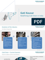 Gati Kausar - Redefining Cold Chain In India