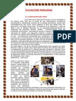 EDUCACIÓN PERUANA