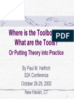Helfrich P the Toolbox and the Tools