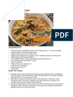 Special Lomi Recipe.docx