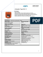 Electrical Actuator 11 Datasheet English