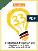 Dossier Startups