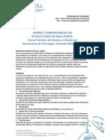 Diseño y Dimensionado de Estructuras II