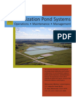Stabilisation Pond Systems - Operations, Maintenance, Management