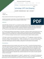 Virtual Fabrication Technology (VFT) and Shipbuilding