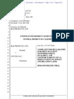 BLM Products Ltd. v. Covves - Complaint