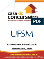 Apostila Ufsm 2016 Assistente Em Administracao