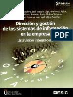 Dirección y Gestión de los sistemas de información de la empresa