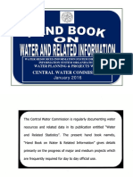 Handbook on Water & Related Information-2016