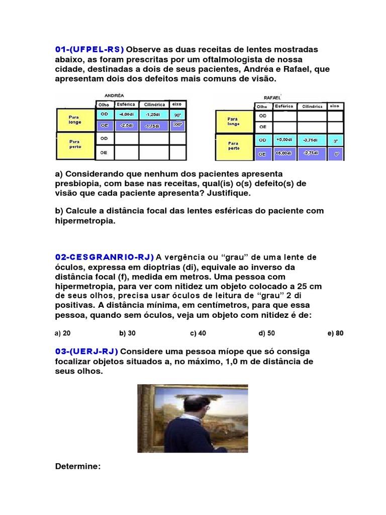 9dd5d0bb79 Questoes Optica Da Visão