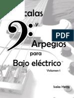 Escalas y Arpegios para Bajo Eléctrico - Isaias Herro.pdf