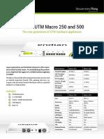 Endian Macro250 500 TechSheet En