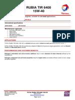 MSDS_Telene 1650B | Toxicity | Firefighting