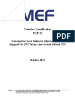 MEF_28 - EnNI Support for UNI Tunnel Access and Virtual UNI