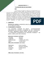 Practica 1_ Flotacion No Sulfuros