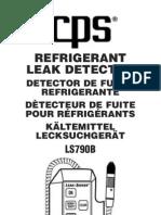 CPS Refrigerant Leak Detector LS790B