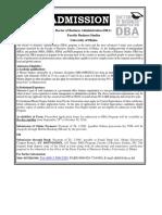 Circular DBA