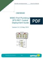 OM38040 MIMO Port Plumbing BTS RET Control Deployment Guide v3 0
