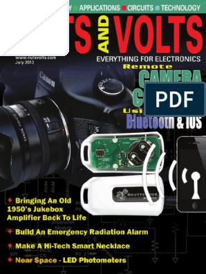 Nuts and Volts 2013-07.pdf | Lithium Ion Battery | Battery ... Doorbell Wires Zumo Do Wiring Diagram on