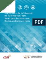 Folleto Diagnostico Politicas Salud Discapacidad Instituto Paz