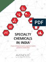 Avendus Specialty Chemicals Report