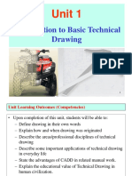 Unit 1. Introduction to Basci Technical Drawing