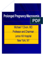 Divon Prolonged Pregnancy