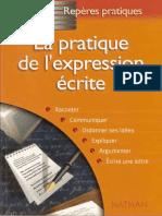Pratique Expression Ecrite