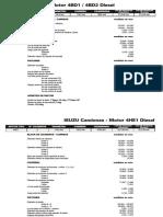ISUZU Camiones - Motor 4BD1 - 4BD2 Diesel.pdf