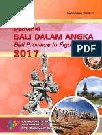 Provinsi Bali Dalam Angka 2017