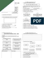 Evaluación de Ciencia y Ambiente para segundo grado primaria