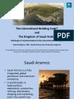 Int'l Bldg. Code & the KSA