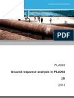 PLAXIS Ground Response Analysis