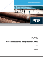 PLAXIS Ground Response Analysis