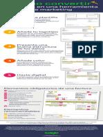 Infografia Como Convertir Factura Herramienta Marketing