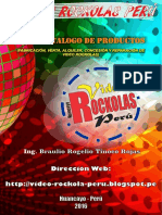Catalogo Video Rockolas Peru