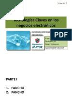 Tecnologias Claves en Los Negocios Electronicos