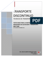 transporte discontinuo